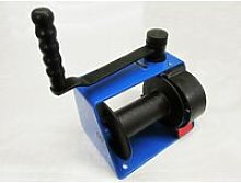 Manual Hand Winch for Lifting 250KG (Blue 0.25 Ton