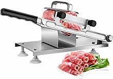Manual Meat Slicer Stainless Steel Frozen Meat