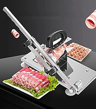 Manual Meat Slicer, Stainless Steel Meat Cutter