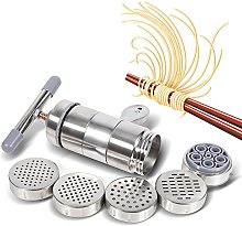 Manual Pasta Maker Portable Stainless Steel Noodle