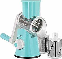 Manual Rotary Cheese Grater, Round Vegetable