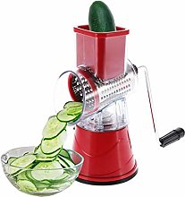 Manual Rotary Drum Grater Stainless Steel Cheese