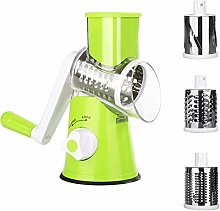 Manual Vegetable Slicer, Uong Drum Rotary Grater