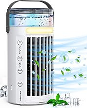 Manwe Portable Air Cooler, Small 4 In 1 Air