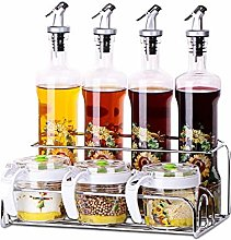 MANXUEUP Olive Oil Dispenser Set,4 pcs Oil