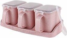 MANXUEUP Seasoning Box Seasoning Box Seasoning