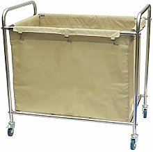 Manyao Trolley On Wheels Tool Hotel Laundry Sorter