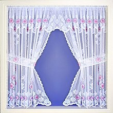 Maple Textiles Daisy Marigold Net Curtain Window