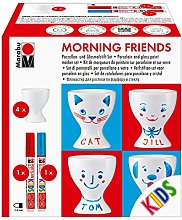 Marabu Porcelain Morning Friends Egg Cup Paint