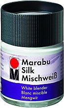 Marabu Silk Paint 50ml - 202 White Blender