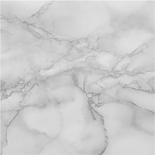 Marble Black and White Wall Semi-Gloss Wallpaper