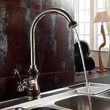Marble Design Countertop Kitchen Faucet Chrome