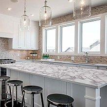 Marble Kitchen Wallpaper Sticky Back Plastic Vinyl
