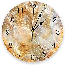 Marble Modern Wall Clock For Home Office Wall