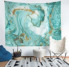 Marble Print Tapestry Abstract Art Wall Blanket