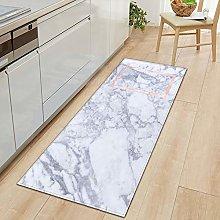 Marble Printed Non Slip Entrance Door Bathroom Mat