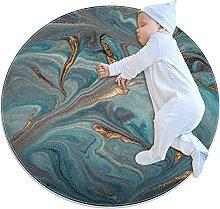 Marble texture, Round Area Rug Pattern Round