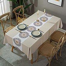 marca blanca New table cloth printed pattern