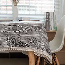 marca blanca Tablecloth Jacquard Spindrift Pattern