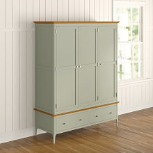 Marcello 3 Door Wardrobe August Grove