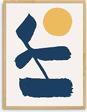 Marcus Walters - Venture Framed Print, 83.4 x
