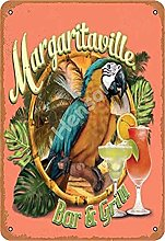 Margaritaville Bar And Grill With Cocktail And