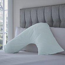 Margret V-Shaped Pillowcase Zipcode Design Colour: