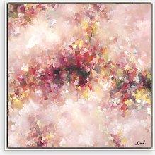 Maria Esmar - 'Roses' Abstract Canvas