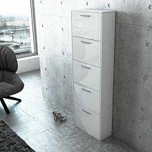 Marian Shoe Storage Cabinet Ebern Designs