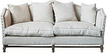 Marie-Antoinette Linen sofa