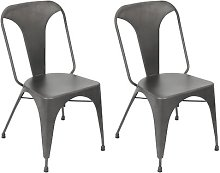 Marie Dining Chair Borough Wharf Upholstery: Grey