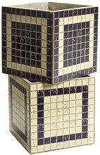 Marie Mosaïque Pot - Set of 2 - Mosaic by Serax