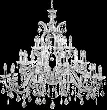 Marie Therese 30 Lamp Crystal Chandelier Ceiling