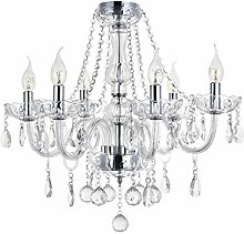 Marie Therese 6 Arms Chandeliers, JJGD Clear K9