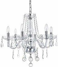 Marie Therese 6 Arms Crystal Chandelier, JJGD