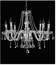 Marie Therese 8 Branch Crystal Chandelier, JJGD