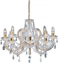 Marie Therese 8 Lamp Ceiling Light With Octagonal