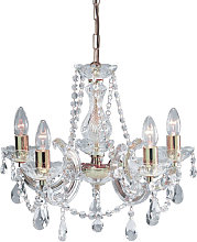 Marie Therese Chandelier Ceiling 5 Lights With