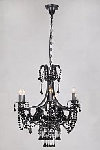 Marie Therese Lace 6-Light Candle-Style Chandelier