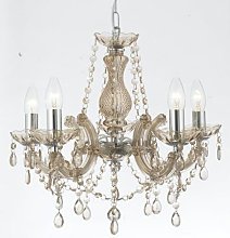 Marie Therese Style Crystal Glass Chandelier in