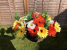 mariejaynesgifts Hanging Basket With Artificial