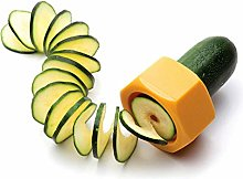 MARIJEE 2Pcs Spiral Cucumber Cutter,Lazy Vegetable