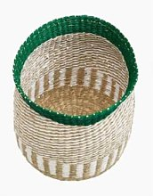 Marimekko - Storage Basket Trunk Green - seagrass