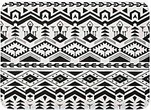 MARIODP Non-Slip Floor Mat Bathroom Door Mat Aztec