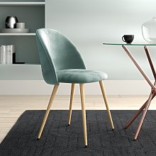 Marisol Upholstered Dining Chair Hykkon Colour: