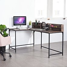 Mariyah L-Shape Computer Desk Williston Forge