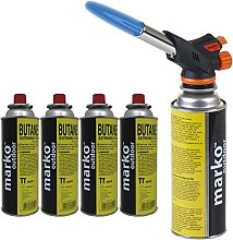 Marko Blow Torch Butane Gas Kit Cooking Catering