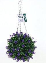 Marko Gardening Purple Lavender Topiary Ball Buxus