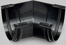 Marley Deepflow 110mm Black 45 Degree Angle RAD20b