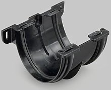 Marley Deepflow 110mm Black Union Bracket RUD10b